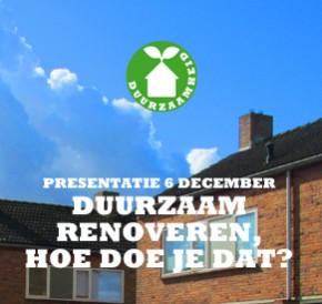 Duurzaam renoveren, hoe doe je dat?