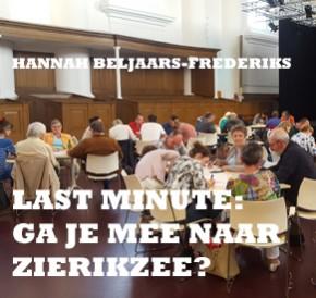 Last Minute: Ga je mee naar Zierikzee?